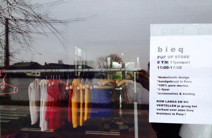 bieq had first POPupStore 8th - 11th januar !